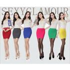 Summer Fashion Women/Lady Striped Sexy Mini Skirt Short Pencil Skirt Dresses LJ