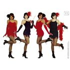 Ladies Womens Flapper Costume for 20s Moll Gangster Fancy Dress