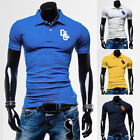 2015 New Summer Men's Short Sleeve Polo Shirt T-Shirt Stylish Tops Tee Size XS~L