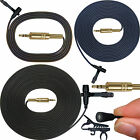 MICRONIC PRO LAPEL MICROPHONE TOP QUALITY SOUND & BUILD IN ALL METAL & GOLD PLUG