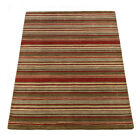 Flair Rugs Rustic Corn Wool Hand Knotted Striped Rug