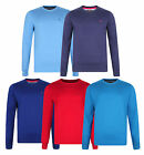 Farah New Men's Regular Fit Sweatshirts Cotton Crew Neck Jumper Sweater Top