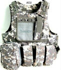 Army Airsoft Paintball Assault Combat MOLLE Plate Tactical Carrier Vest Hunting