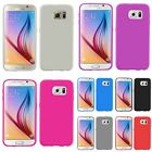 For Samsung Galaxy S6 New TPU Cover Soft Gel Rubber Skin Back Phone Case