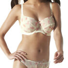 Panache Tango Two Tone Bra Ivory/Pink NEW Select Size