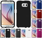 NEW RUBBERIZED PROTEX HARD SHELL CASE COVER FOR SAMSUNG GALAXY S6 S 6 PHONE