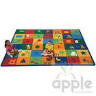 Learning Blocks Rectangle Rug - Carpets for Kids - Free Shipping