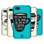 HEAD CASE DESIGNS COFFEE FIX HARD BACK CASE FOR BLACKBERRY Q5