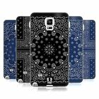 HEAD CASE CLASSIC PAISLEY BANDANA SILICONE GEL CASE FOR SAMSUNG GALAXY NOTE 4