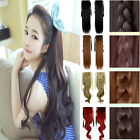 Beauty girl ponytail clip in hair extensions real as natural thick pony tail 1P8