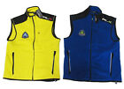 Polo Ralph Lauren RLX Mens Blue Yellow Zip Slim Expedition Fleece Vest Jacket