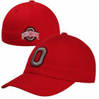 Top of the World Ohio State Buckeyes Letterman Fitted Hat - Scarlet