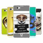 HEAD CASE FUNNY ANIMALS SILICONE GEL CASE FOR SONY XPERIA Z1 COMPACT D5503