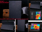 Luxury Genuine Real Flip Case Wallet Cover All Samsung Galaxy Tab Tablet