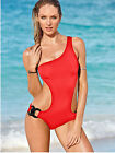 Alluring Girls Sexy Swimsuit Solid One Piece Body Con Mini Swimwear Sets