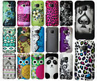 For HTC One M9 Rubberized HARD Protector Case Snap On Phone Cover + Screen Guard