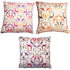 Scatter Box Embroidered Romanov Feather Filled Cushion