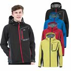 Trespass Strathy Mens  Softshell Jacket Waterproof Breathable Coat with Hood