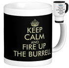 BURREL (steam traction ploughing showmans engine) MUG funny Keep Calm style gift