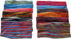 FAIR TRADE HIPPY BOHO COTTON KNIT HAIR BAND TIES ACCESORIES PACK OF 5