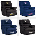 Choose Your NHL Team Big Daddy Soft Microfiber Recliner Arm Chair by Imperial