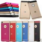 Aluminum Metal Frame Bumper + Arcylic PC Back Case Cover For Huawei Ascend P8