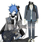 Vocaloid Imitation Black Kaito Cosplay Costume Full Set FREE P&P