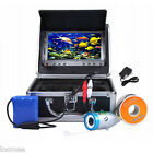 """LCD 800TVL Night Vision Fish Finder Underwater Camera 15M/30M Cable 7"""" TFT"""