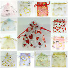 "10/100pcs Organza Jewelry Packing Bags Pouch Wedding/Gift Favor Bags 4""x4.72"""