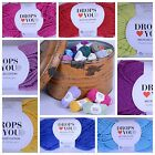 DROPS Love You 5 Recycled Cotton Knitting & Crochet Yarn - Choose Colour