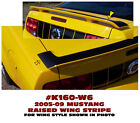 K160-W6 2005-09 MUSTANG - RAISED WING ACCENT DECAL - TOP OF WING DECAL