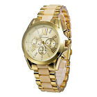 Fashion Luxury Geneva Roman Style Alloy Quartz Girl Women Ladies Wrist Watch