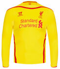 Warrior Liverpool LFC 2014/15 Away Junior Long Sleeve Shirt ALL SIZES