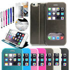 """New Flip Leather Wallet View Window Skin Case Cover for Apple iPhone 6 4.7"""""""