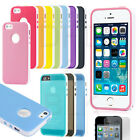 PC Shockproof Dirt Proof Hard Matte Cover Case For Apple iPhone 5 5S+Screen Film