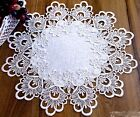 beautiful EMBROIDERED NAPKIN Table Runner DOILY Tablecloth Victorian style