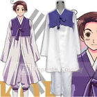 Hetalia Axis Powers South Korea Hanbok Cosplay Costume Full Set FREE P&P