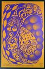 Vintage 1967 The Who Fillmore San Francisco Concert  Poster A3 Print