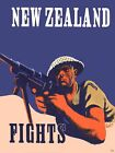 World War Two New Zealand Army Recruitment  Poster A3 Print