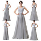 Summer Formal Long Mother of the Bride dress Prom Evening Wedding prom Dress HOT