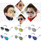 Fashion Cool Boys Girls Kids Aviator Mirror Lens Sunglasses UV400 Child Goggles