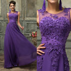 Long Wedding Bridesmaid Masquerade Formal Prom Gown Party Wedding Maxi Dresses