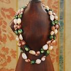"""Baroque 10mm Freshwater Pearl Necklace 25""""- 60"""" PALETTE TR08 WOMEN'S PHILOSOPHY"""