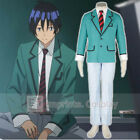 Bakuman Moritaka Mashiro Boys School Uniform Cosplay Costume Full Set FREE P&P