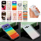 Thin Cute Lovely Cartoon Pattern Soft TPU Gel Silicone Case Cover Skin For Phone