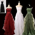 PLUS SIZE 50s VINTAGE Masquerade Wedding Evening Party Ball Gown Long Prom Dress