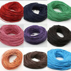 1,1.5,2,2.5,3mm High Quality Round Cord Real Leather String Lace Thong Jewellery