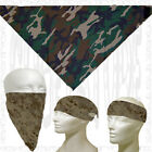 Do Head Bandana Skull ACU Biker Motorcycle Doo Rag Du Hat Winter Face Mask Cap