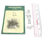 silver color metal bookmark stationery paper clip scrapbooking decoration