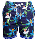 Mens Supa Floral Dry Polo Swim Sport Shorts Summer Beach Board Surf Trunks S